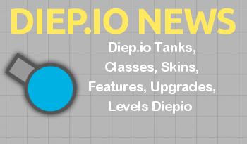 Diep.io Tanks, Classes, Skins, Features, Upgrades, Levels Diepio